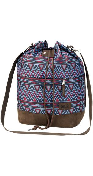 Jack Wolfskin Sandia Shoulder Bag red navajo